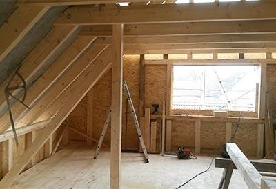 Zimmerei- und Holzarbeiten